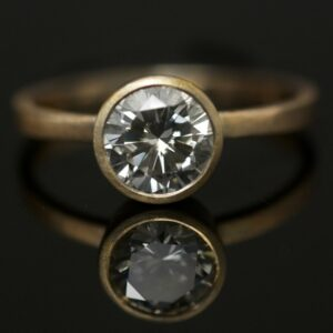 1ct brilliant cut diamond ring portland jewelry
