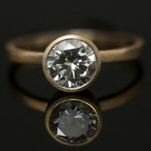 1ct brilliant cut diamond ring portland jewelry