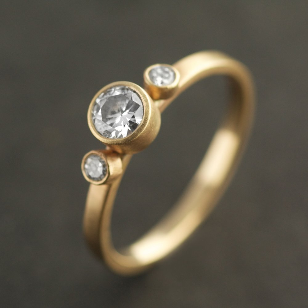 best pinterest on recycled engagement skindco images ethical ring luminous diamond vintage rings