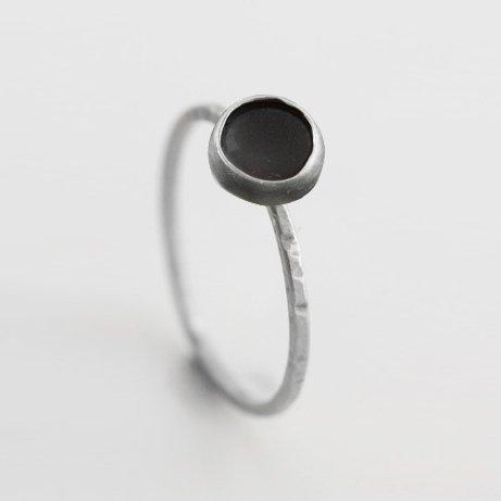 obsidian ring
