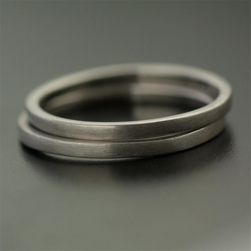 two palladium rings