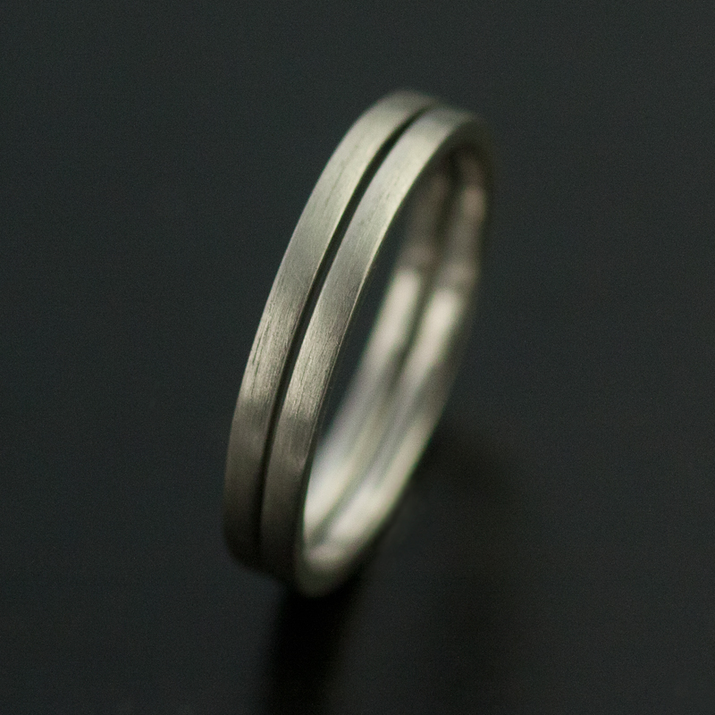 palladium ring set