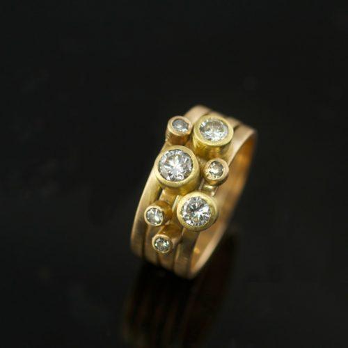 14k-18k-recycled-gold-heirloom-diamonds-custom-wedding-vk-designs
