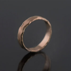 rose gold 5mm ring