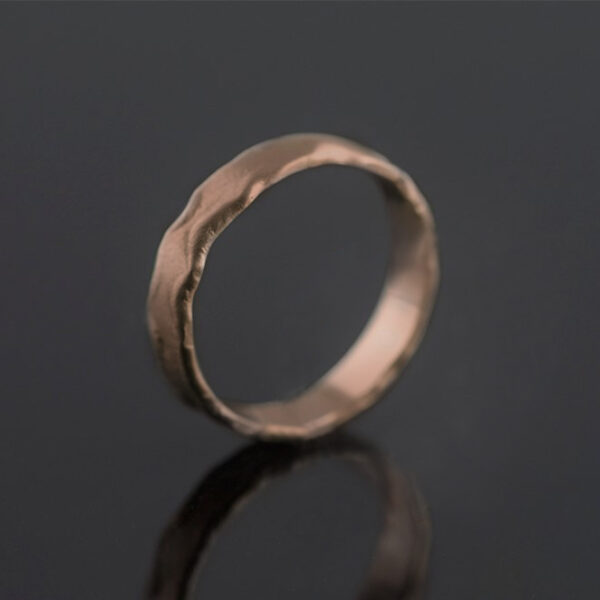 rose gold 5mm ring